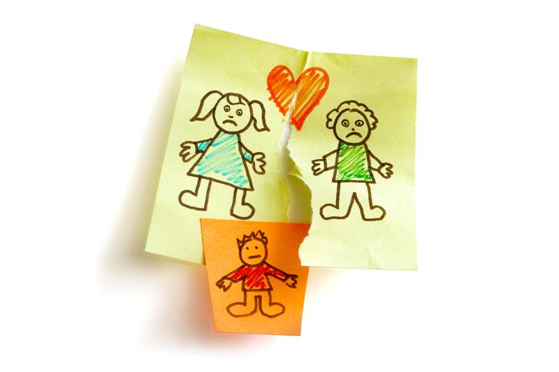 Cómo comunicar el divorcio a los niños