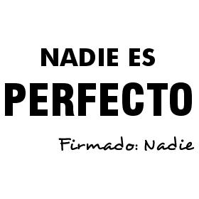 Deja la perfección a un lado y disfruta la vida
